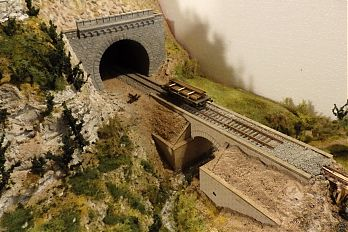 diorama - tunel